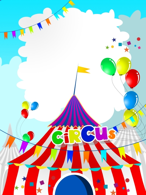 Circus Party Invitations Templates Free - NextInvitation Templates - circus party invitation