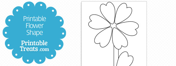 Free Flower Leaf Template, Download Free Clip Art, Free Clip Art on