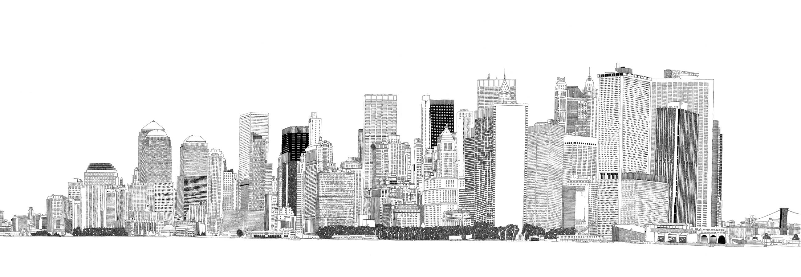 New Skyline Wandtapete Free New York Skyline Download Free Clip Art Free Clip
