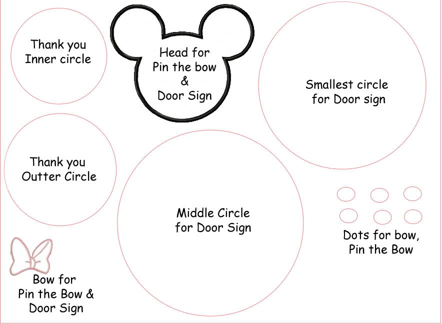 Free Free Minnie Mouse Bow Template, Download Free Clip Art, Free