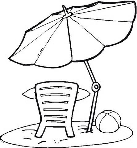 Printable Beach Coloring Pages - Drawing Kids - Clip Art Library