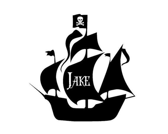 Free Pirate Ship Stencil, Download Free Clip Art, Free Clip Art on