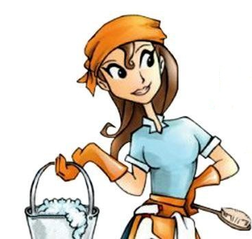 Free Cleaning Lady Cartoon, Download Free Clip Art, Free Clip Art on