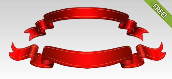 Free Ribbon Banner Template, Download Free Clip Art, Free Clip Art