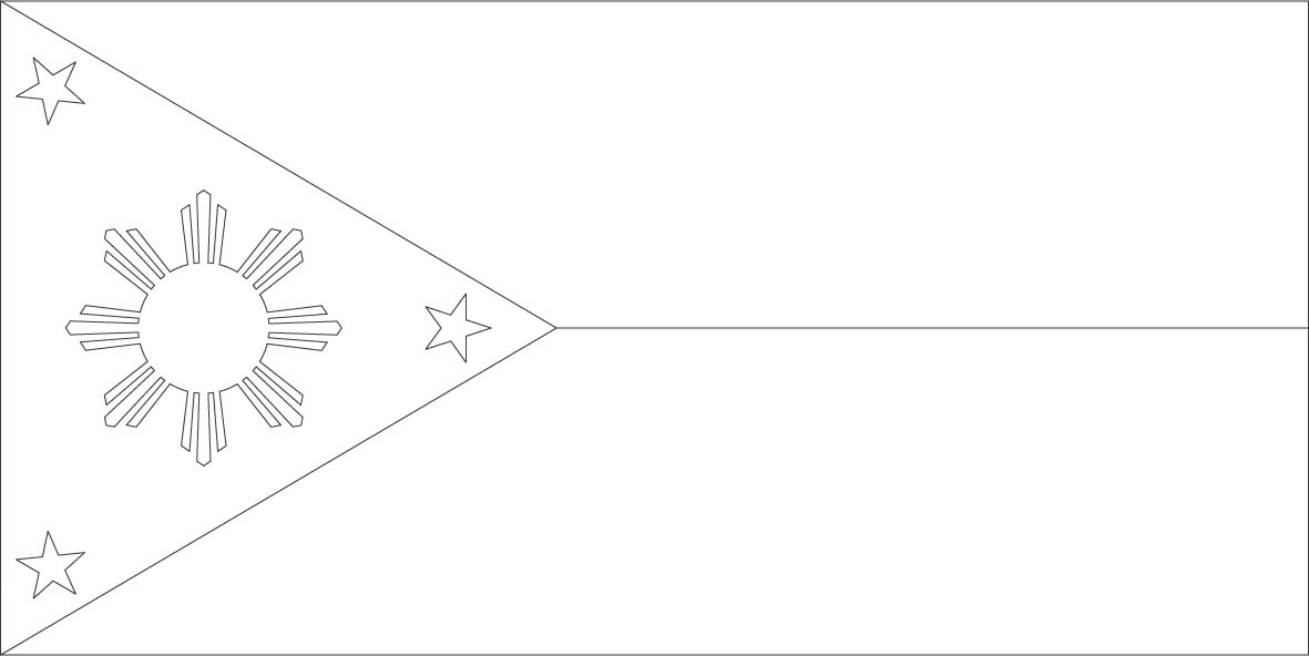 Free Flag Outline, Download Free Clip Art, Free Clip Art on Clipart