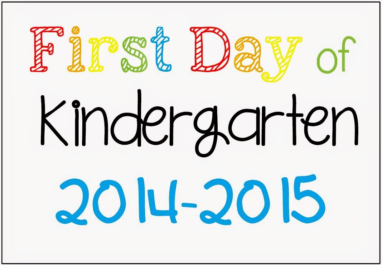 Freebie First Day Of School