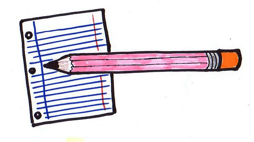 Free Picture Of A Pencil And Paper Download Free Clip Art