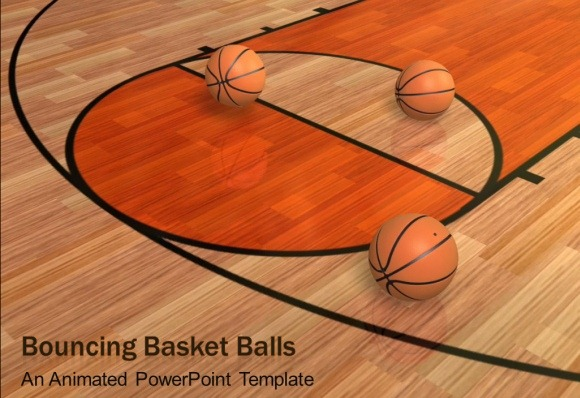 Animated Basketball PowerPoint Template PowerPoint Presentation