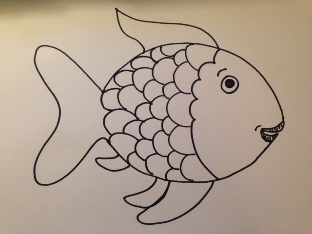 Free Rainbow Fish Template, Download Free Clip Art, Free Clip Art on