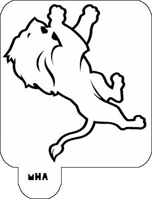 Free Detroit Lions Stencil, Download Free Clip Art, Free Clip Art on