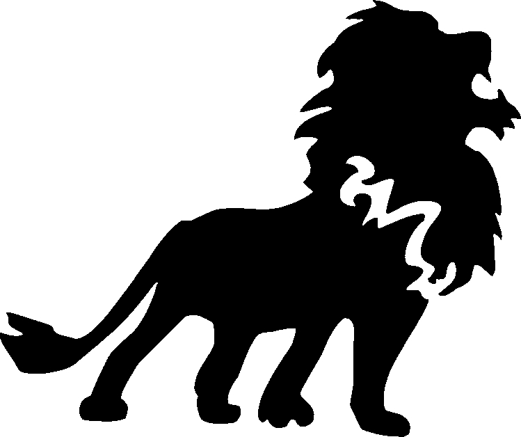 Free Lion Face Stencil, Download Free Clip Art, Free Clip Art on