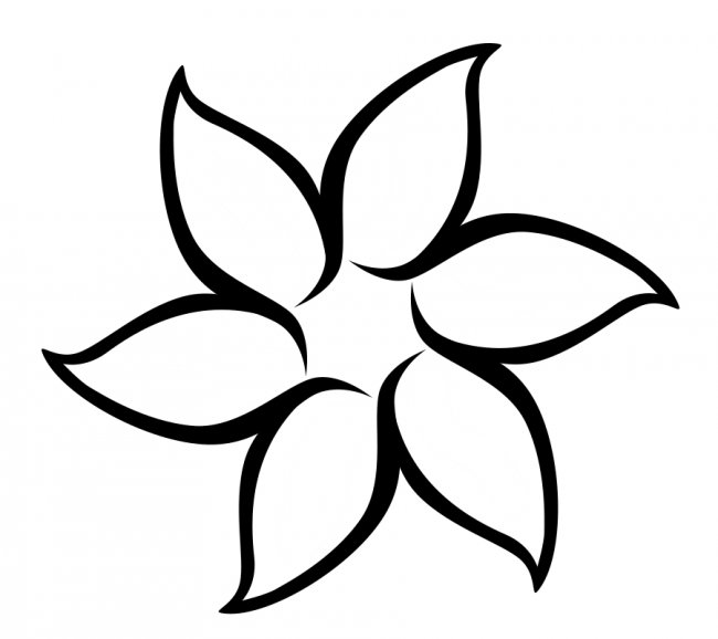 Free Blank Flower Template, Download Free Clip Art, Free Clip Art on