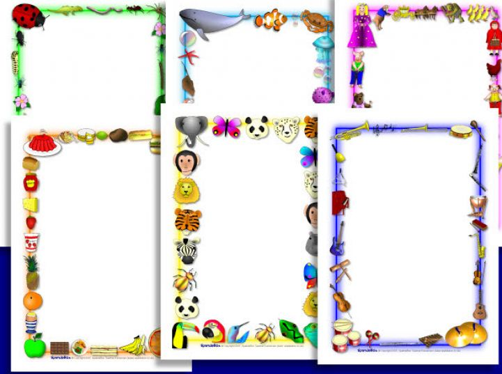 Free Page Borders For Microsoft Word, Download Free Clip Art, Free