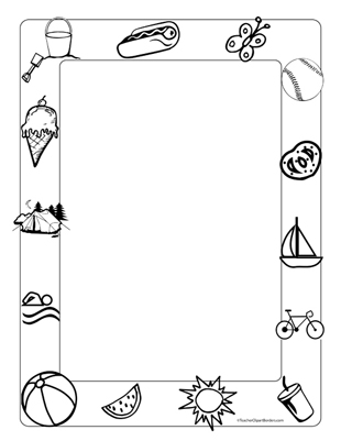 Free Fun Page Borders, Download Free Clip Art, Free Clip Art on
