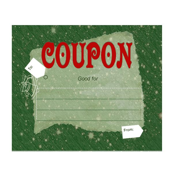 Free Babysitting Gift Certificate Template, Download Free Clip Art - coupon voucher template