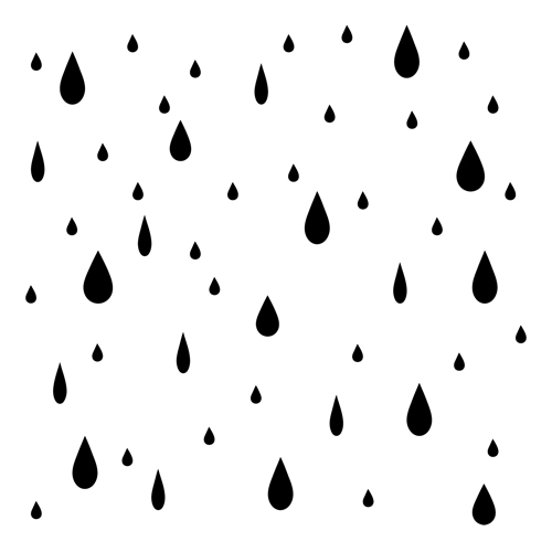 Template For Raindrops - Clipart library - Clip Art Library