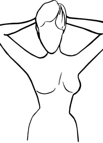 Free Female Body Outline, Download Free Clip Art, Free Clip Art on