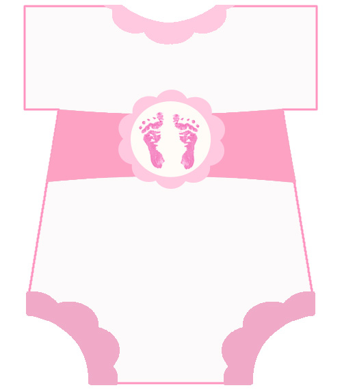 Free Baby Footprint Template, Download Free Clip Art, Free Clip Art - free baby shower downloadable invitation templates