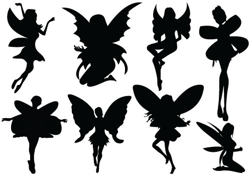 Free Fairy Silhouette, Download Free Clip Art, Free Clip Art on