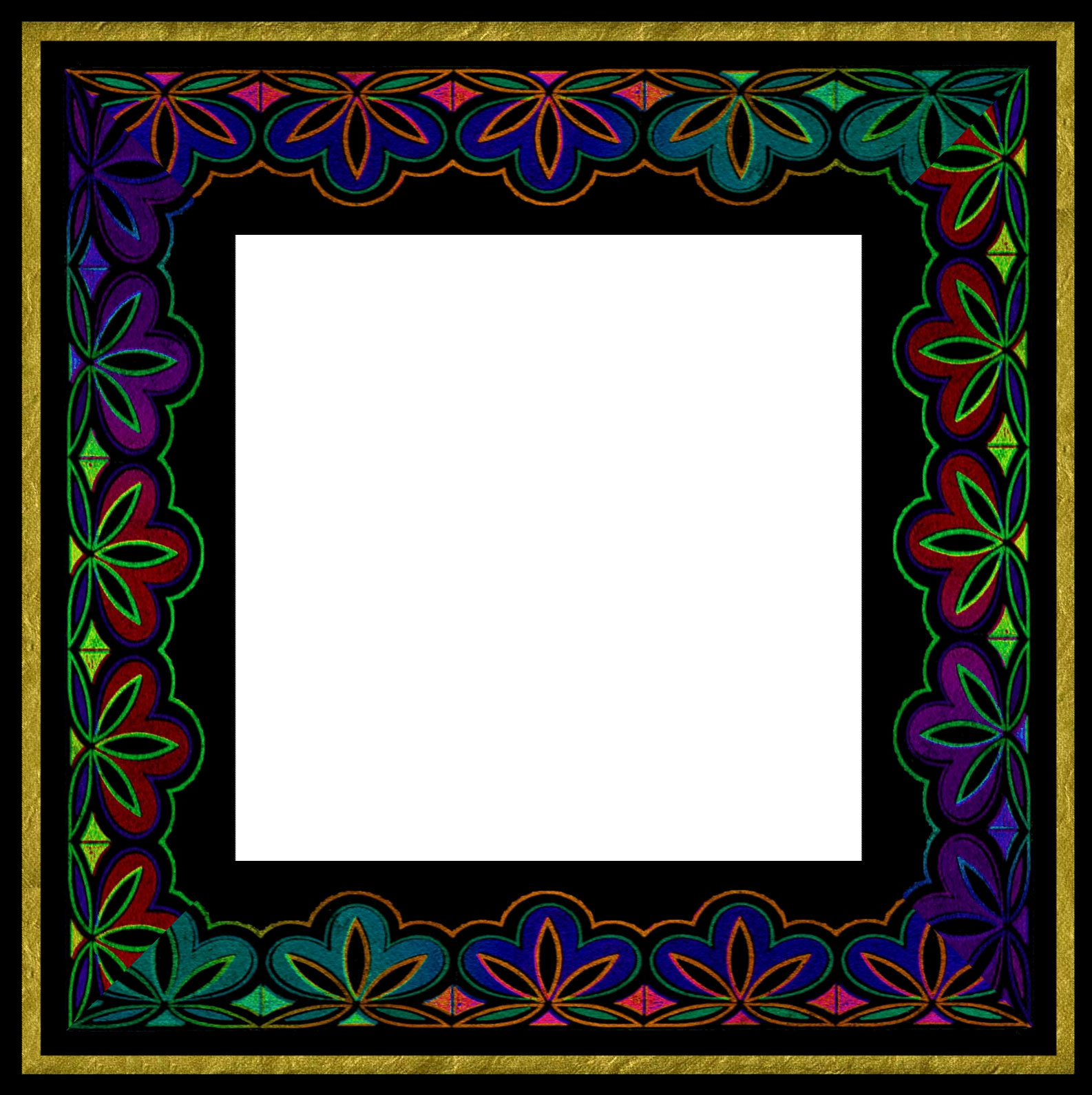 Online Picture Free Printable Picture Borders Frame Templates