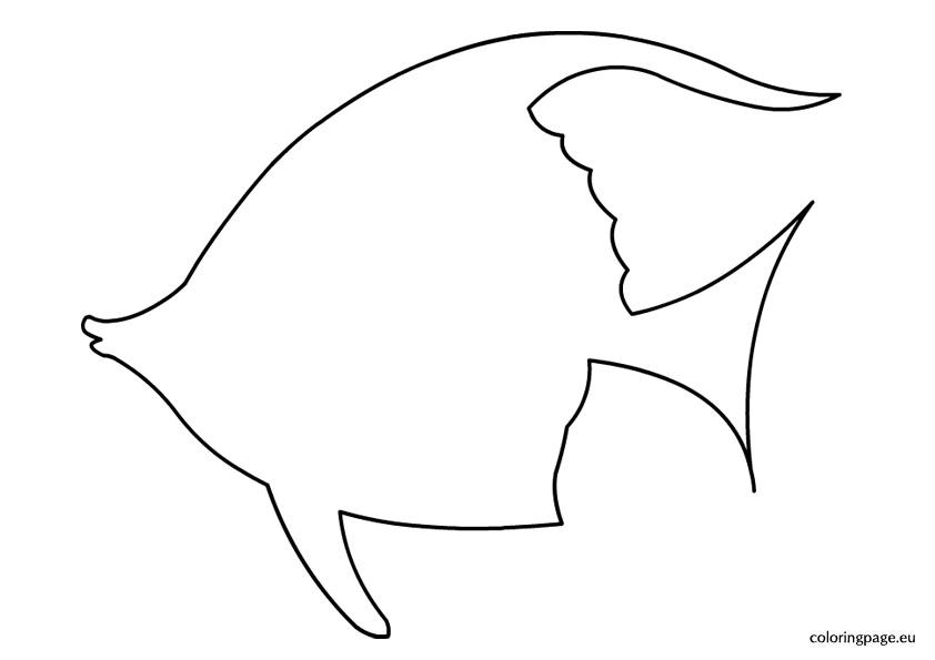 Printable Fish Bowl Template - Clip Art Library