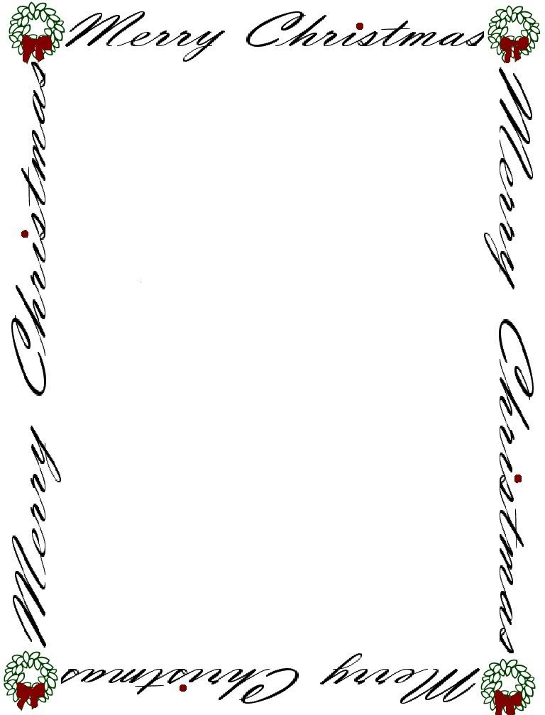 Free Letterhead Borders, Download Free Clip Art, Free Clip Art on - snowflake borders for word