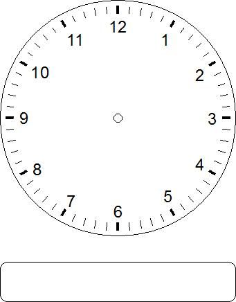 Free Blank Analog Clock, Download Free Clip Art, Free Clip Art on - clock face template