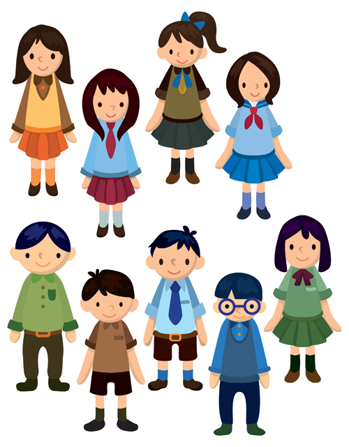 Free School Children Cartoon, Download Free Clip Art, Free Clip Art