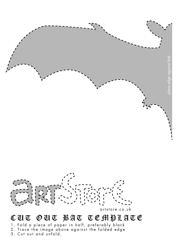 bat template Templates moulds Clipart library - Clip Art Library - bat template