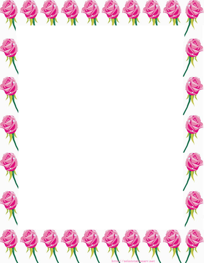 Free Free Printable Floral Borders And Frames, Download Free Clip