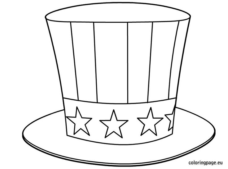 Uncle Sam Costume Hat PRINTABLE Download easy by WowPrintables