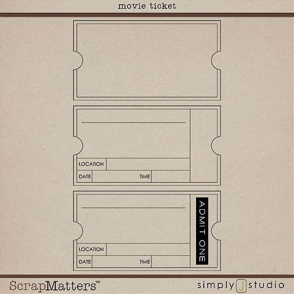 Free Free Vintage Ticket Template, Download Free Clip Art, Free Clip - Free Ticket Template Printable