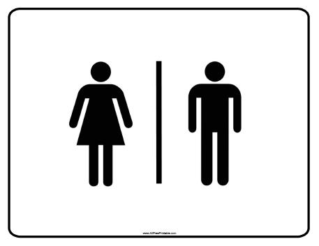 Free Bathroom Signs, Download Free Clip Art, Free Clip Art on
