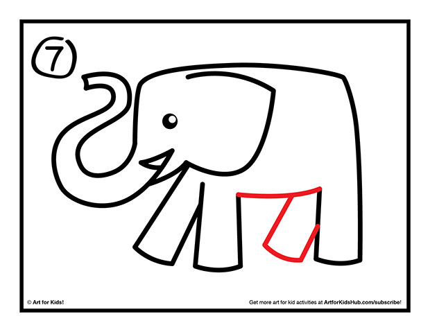 Free Line Drawing Of Elephant Download Free Clip Art