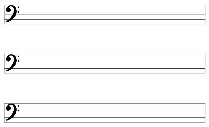 Blank Music Sheet Bass Clef Background 1 HD Wallpapers lzamgs