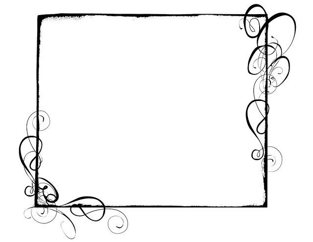 Page Border Swirl - Clipart library - Clip Art Library