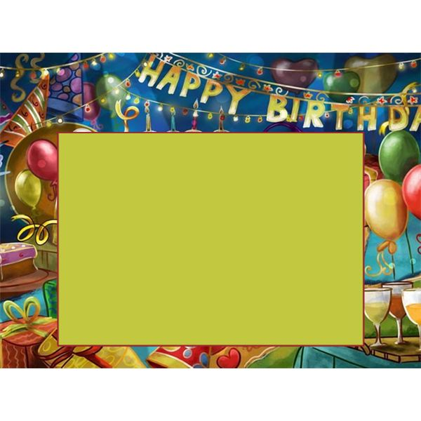 Free Birthday Borders For Microsoft Word, Download Free Clip Art