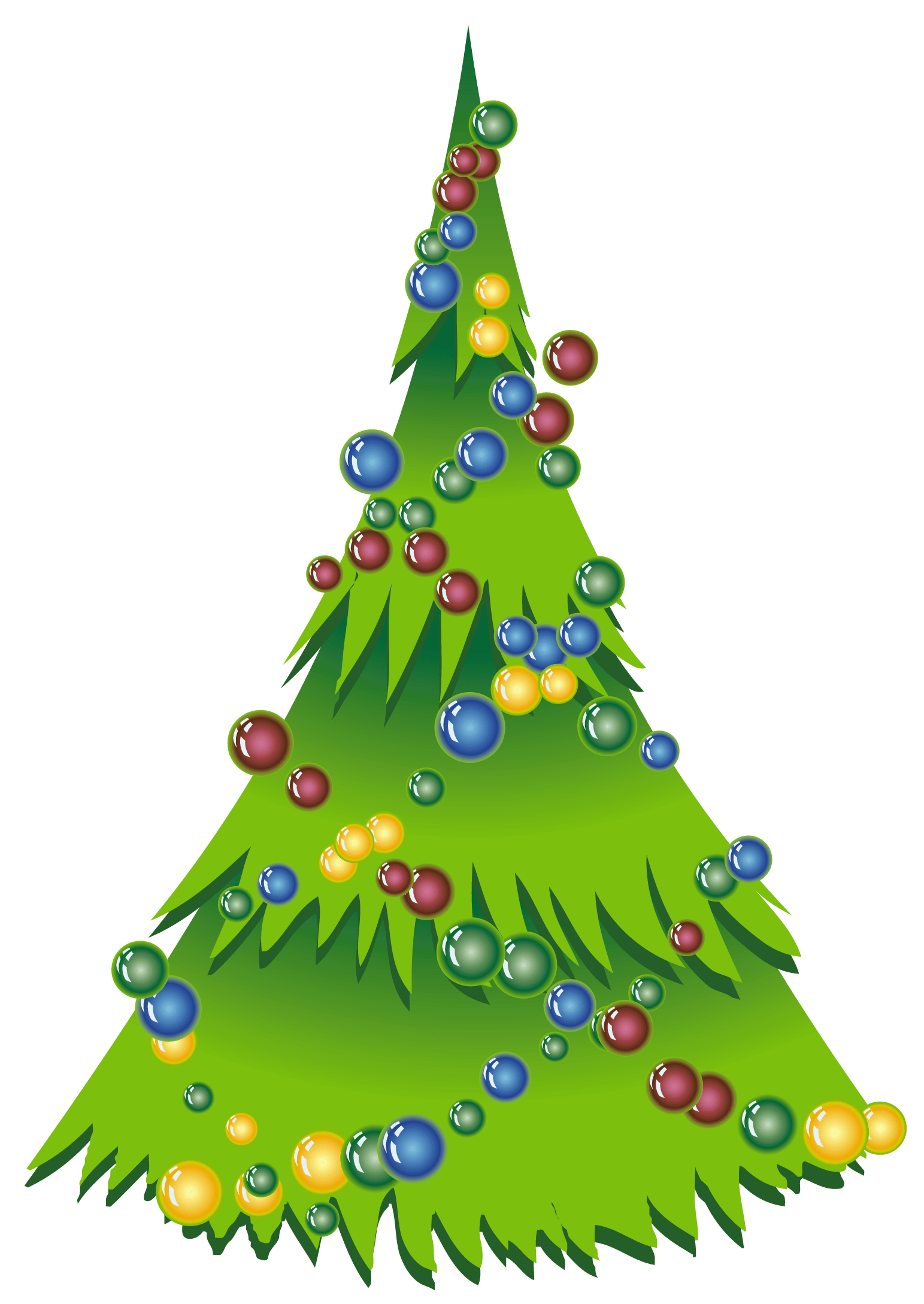 Christmas Tree With Santa Clip Art Free Simple Christmas Images Download Free Clip Art Free