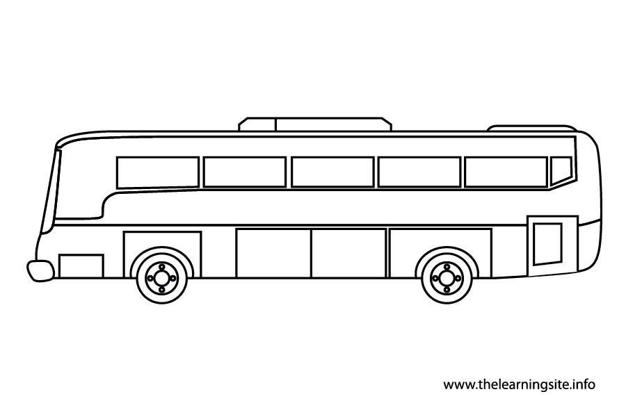 Free School Bus Outline, Download Free Clip Art, Free Clip Art on