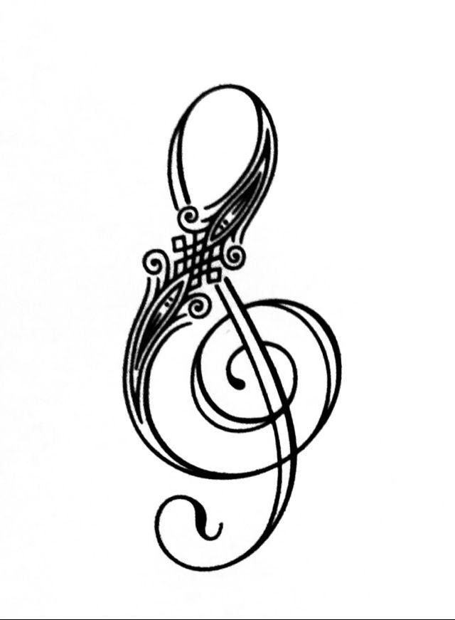 Free Treble Clef Graphic, Download Free Clip Art, Free Clip Art on - treble clef template
