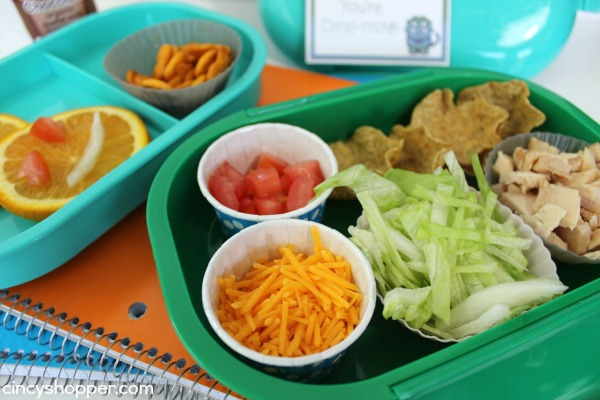 Chicken Taco Bento Lunchbox Recipe + FREE Lunchbox Notes Printable