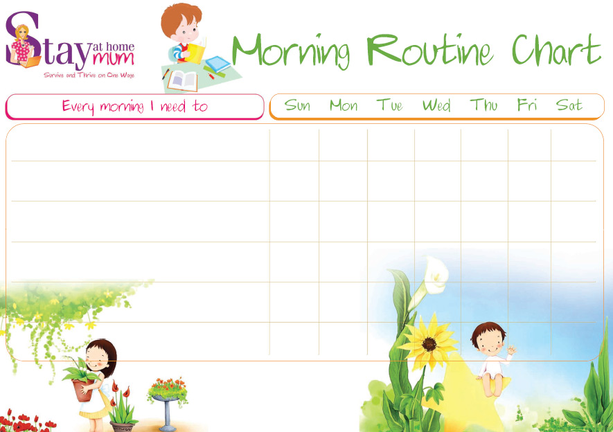 Free Morning Routine, Download Free Clip Art, Free Clip Art on