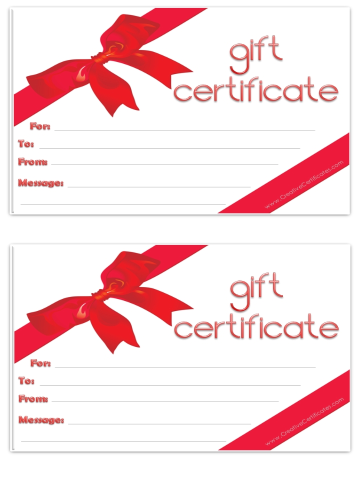 Free Tattoo Gift Certificate Template, Download Free Clip Art, Free