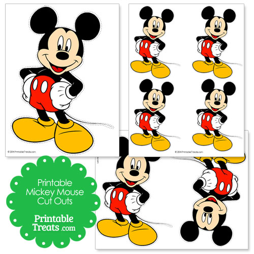 Free Printable Mickey Mouse, Download Free Clip Art, Free Clip Art