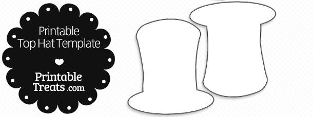 Top Hat Snowman Template wwwpicswe