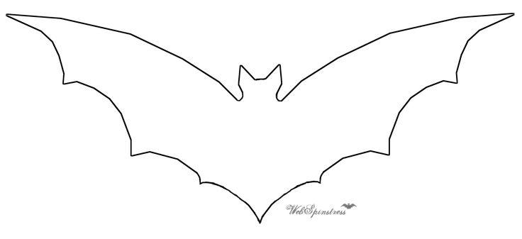 Bat Template Free Download Clip Art Free Clip Art on Clipart - bat template