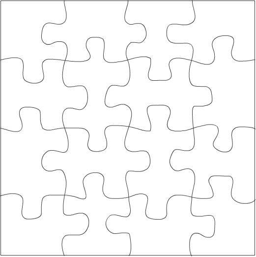 Free Puzzle Pieces Template, Download Free Clip Art, Free Clip Art