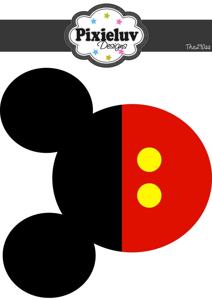 Free Mickey Mouse Face Template, Download Free Clip Art, Free Clip