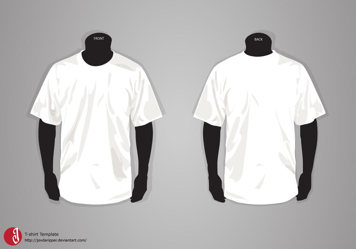 Black t shirt psd template - Download