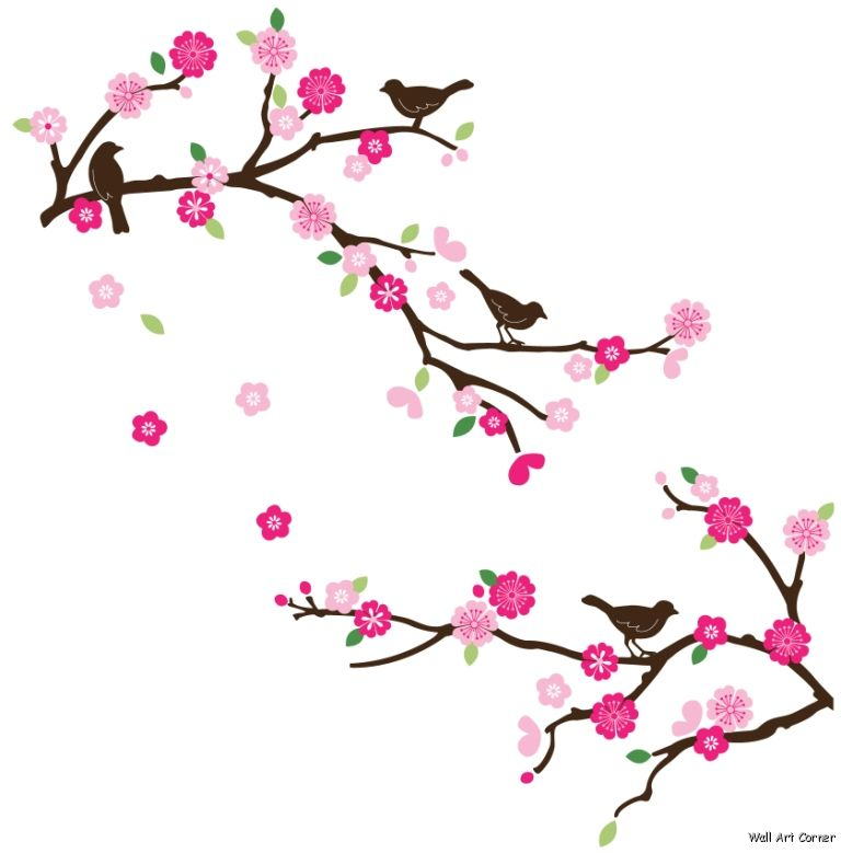 Free Cherry Blossom Cartoon, Download Free Clip Art, Free Clip Art